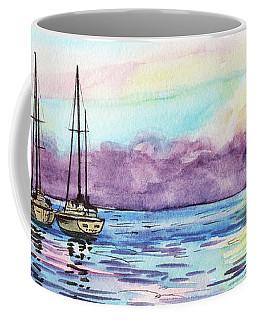 Coffee Mug featuring the painting Florida Keys Islamorada Shore by Irina Sztukowski