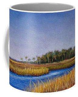 Florida Marsh In June Coffee Mug
