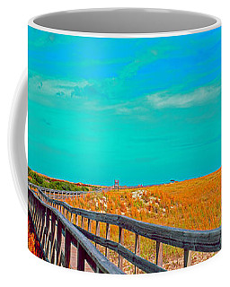 Florida Sand Dunes Atlantic New Smyrna Beach Coffee Mug