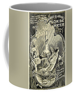 Coffee Mug featuring the digital art Florida Water by ReInVintaged