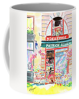Florist In Ile St.louis Coffee Mug