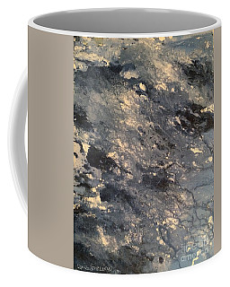 Coffee Mug featuring the painting Flow by Denise Tomasura