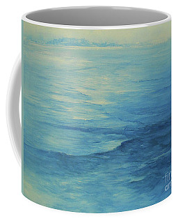 Coffee Mug featuring the painting Flow by Jane See