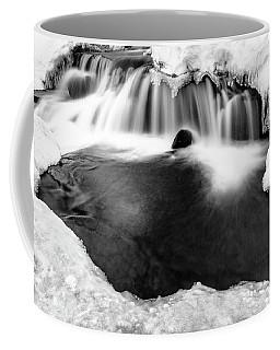 Flow Of Eagle's Light Framed With Ice Coffee Mug