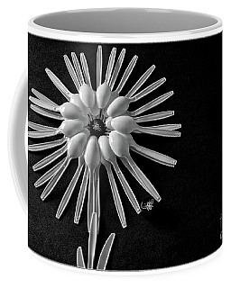 Flower And Bees Coffee Mug by Jimmy Ostgard