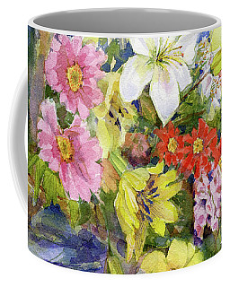 Flower Basket Coffee Mug