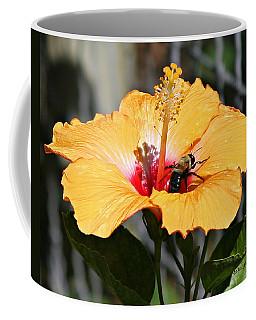 Flower Bee Coffee Mug