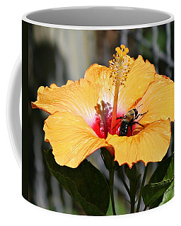 Flower Bee Coffee Mug