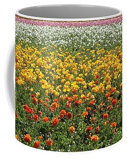 Flower Blanket From Carlsbad Coffee Mug