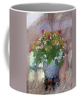 Flower Bowl Coffee Mug