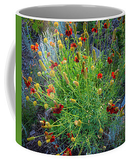 Coffee Mug featuring the photograph Flower Burst by John Brink