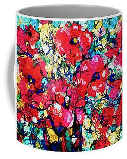 Flower Celebration Coffee Mug by Natalie Holland