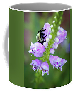 Flower Climbing Coffee Mug by Eduard Moldoveanu