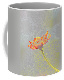 Coffee Mug featuring the photograph Flower Drawing by Ellen O'Reilly