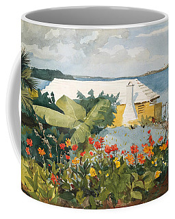 Flower Garden And Bungalow Coffee Mug