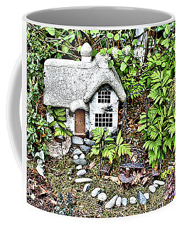 Flower Garden Cottage Coffee Mug