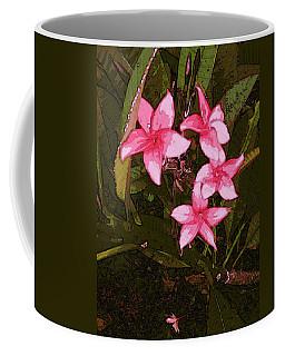 Coffee Mug featuring the digital art Flower Gems by Winsome Gunning
