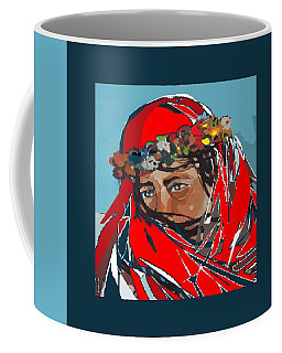 Flower Girl 2 Coffee Mug