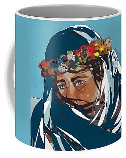 Flower Girl Coffee Mug by Andrew Drozdowicz