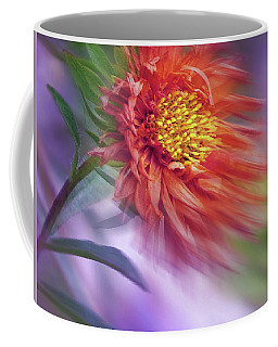 Flower In The Wind Coffee Mug by Nina Bradica