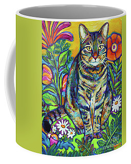 Phoebe The Flower Kitty Coffee Mug