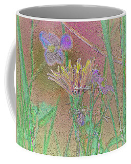 Flower Meadow Line Coffee Mug