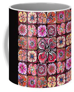 Flower Montage Coffee Mug