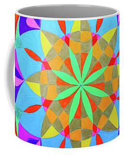 Flower Of Life Mandala Coffee Mug