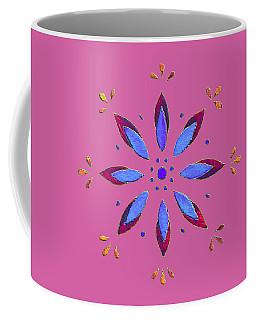 Flower On Pink Coffee Mug