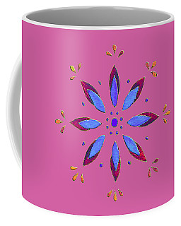 Flower On Pink Coffee Mug