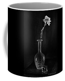 Flower On Rocks Coffee Mug