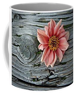 Flower On Wood I Coffee Mug