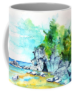 Flower Pot Island Coffee Mug