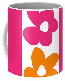 Flower Power 4- Art By Linda Woods Coffee Mug