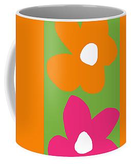Flower Power 5- Art By Linda Woods Coffee Mug