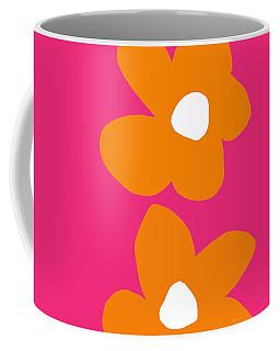 Flower Power 6- Art By Linda Woods Coffee Mug