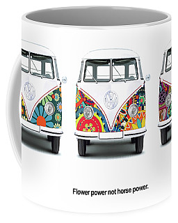 Flower Power Vw Coffee Mug