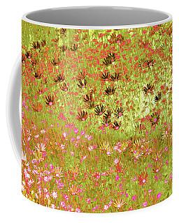 Flower Praise Coffee Mug by Linde Townsend