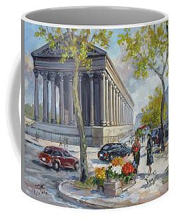 Flower Seller At La Madelaine, Paris Coffee Mug