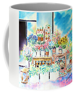 Flower Shop In Paris Coffee Mug