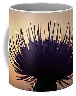 Flower Silhouette Coffee Mug