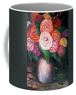 Flower Spirals Coffee Mug