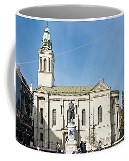 Flower Square Zagreb Coffee Mug by Steven Richman