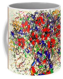 Flower Symphony Coffee Mug by Natalie Holland