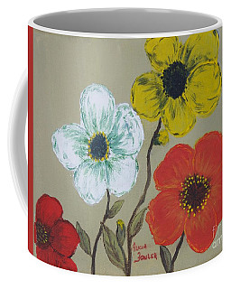 Flower Trio Coffee Mug