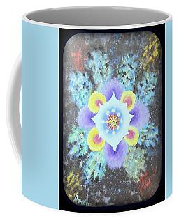 Floral Vortex Coffee Mug
