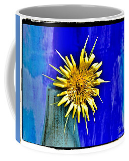 Flower With Spikes Coffee Mug