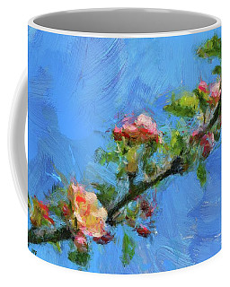 Flowering Apple Branch Coffee Mug