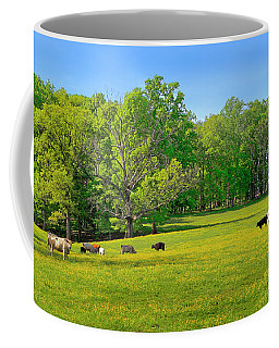 Flowering Cow Pasture Coffee Mug