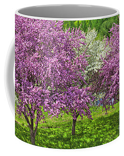 Flowering Crabapples Coffee Mug